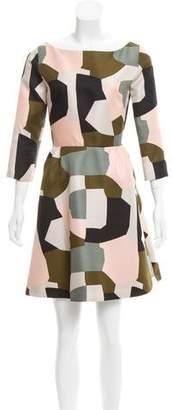 Paul & Joe Geometric Print Mini Dress w/ Tags
