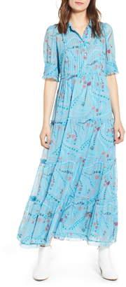 Zadig & Voltaire Rapidel Print Maxi Dress
