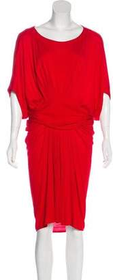 Yigal Azrouel Cut25 by Pleated Midi Dress