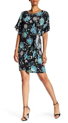Robbie Bee Wrap Skirt Dress