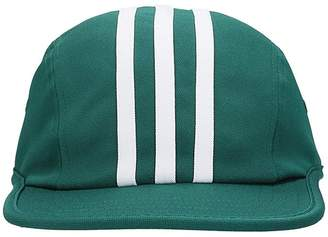 adidas Green Cotton Stripes 4 Panel Hat