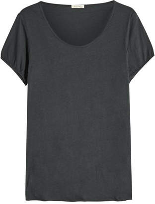 American Vintage Scoop Neck Cotton T-Shirt
