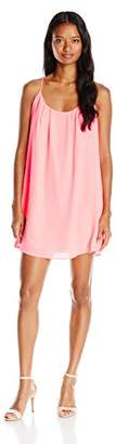Lucy-Love Lucy Love Women's Take Me To Dinner Sleeveless Dress