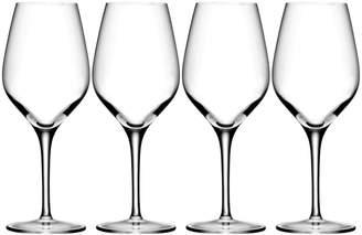 Oneida Set of 4 Grace White Wine Glasses