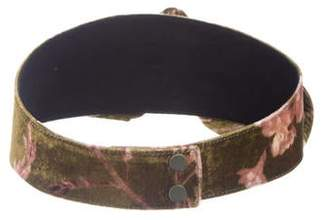 Johanna Ortiz Velvet Printed Waist Belt