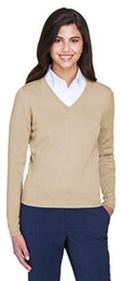 Devon & Jones Ladies' V-Neck Sweater