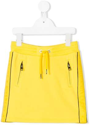 Givenchy Kids logo drawstring skirt