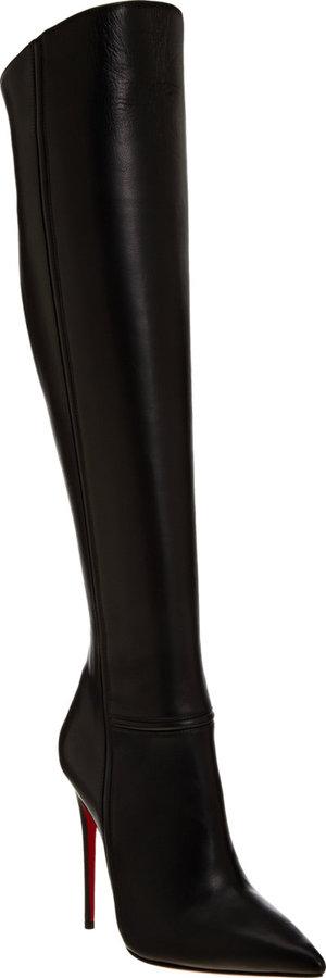 Christian Louboutin Armurabotta Over-the-Knee Boots