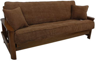 Blazing Needles Box Cushion Futon Slipcover