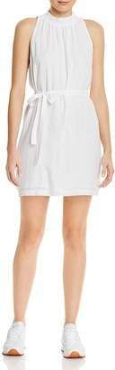 Bella Dahl Smocked-Collar Belted Mini Dress