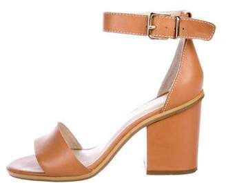 Seychelles Leather Ankle-Strap Sandals