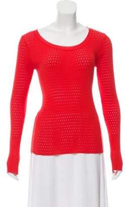 Balenciaga Rib Knit Top