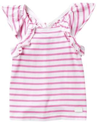 7 For All Mankind Flutter Tank Top (Little Girls)