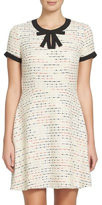 Women's Cece Chloe Tweed Dress $148 thestylecure.com