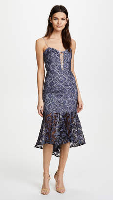 Nicholas Whisper Lace Up Dress
