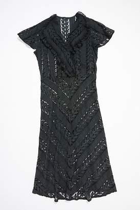 Vintage Loves Vintage 1940s Lace Dress