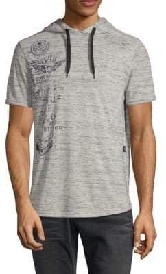 Buffalo David Bitton Nocino Short-Sleeve Hoodie