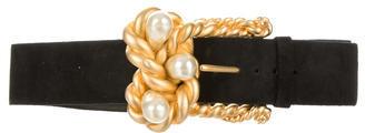 ChanelChanel Suede Waist Belt