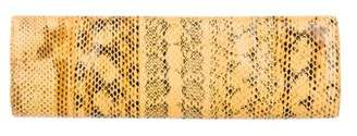Nancy Gonzalez Python Long Clutch