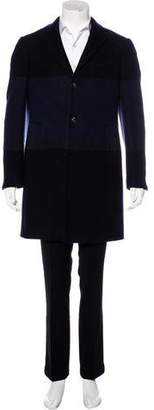 Salvatore Ferragamo Wool-Blend Two-Button Overcoat