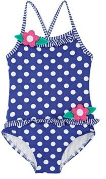 Florence Eiseman FLORENCE EISEMAN POLKA DOT SWIMSUIT SIZE 6 $84 thestylecure.com