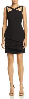 BCBGMAXAZRIA Strap-Detail Crepe Dress - 100% Exclusive