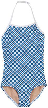 Toobydoo Modernist Geo Print One-Piece Swimsuit (Toddler, Little Girls, & Big Girls)