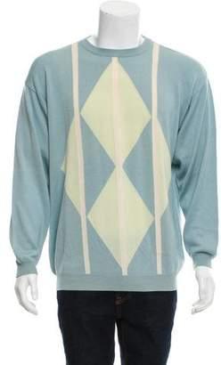 Salvatore Ferragamo Cashmere-Silk Sweater
