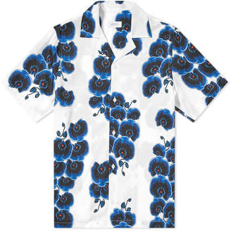 Saturdays NYC Short Sleeve Canty Orchid Vacation Shirt