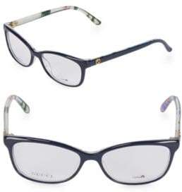 Gucci 54MM Oval Optical Glasses