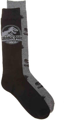 High Point Design Jurassic Park Crew Socks - 2 Pack - Men's