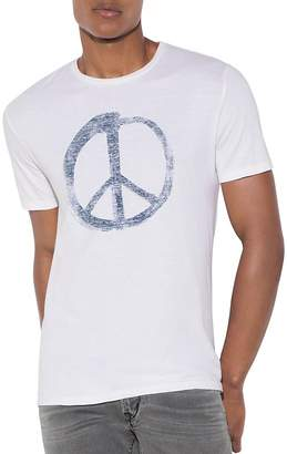 John Varvatos Star USA Peace Symbol Graphic Tee $68 thestylecure.com