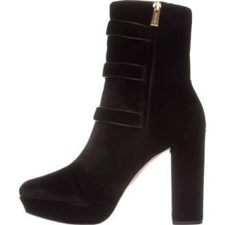 MICHAEL Michael Kors Womens Maisie Leather Almond Toe Ankle