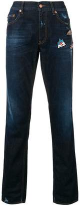 Love Moschino slim faded jeans