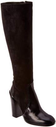Jil Sander Suede & Leather Boot