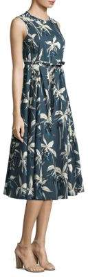 Max Mara Dilly Printed A-Line Dress