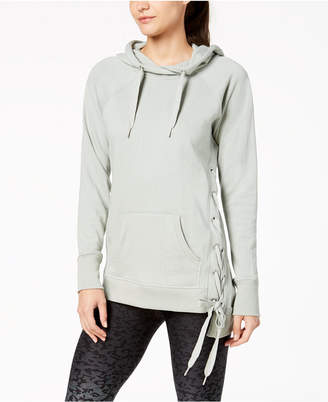Calvin Klein Lace-Up Sides Hoodie