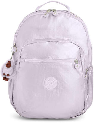 "Kipling Seoul Go Large Metallic 15"" Laptop Backpack"