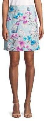 Tommy Bahama Florencia Linen Short Skirt