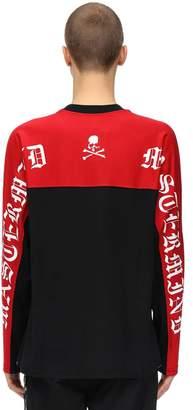 Mastermind World Back Boxie Ls Cotton Jersey T-shirt