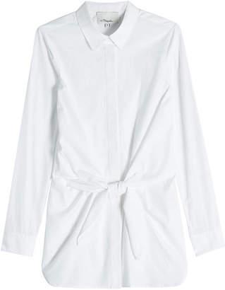 3.1 Phillip Lim Cotton Shirt with Knot Detail