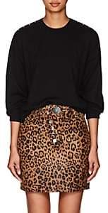 Alexander Wang Women's Snap-Back Wool Sweater - Black