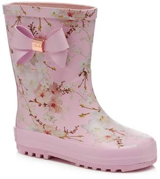 Ted Baker 'Girls' Pink Wellies