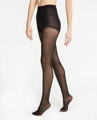 Ann Taylor Houndstooth Tights