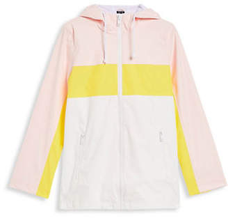 Topshop PETITE Colourblocked Rain Coat