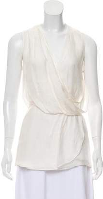 Elizabeth and James Silk Sleeveless Blouse