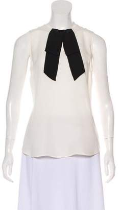 Theory Silk Sleeveless Blouse