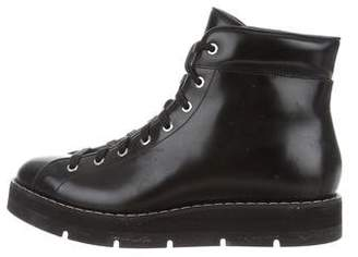 Alexander Wang Patent Leather High-Top Boots