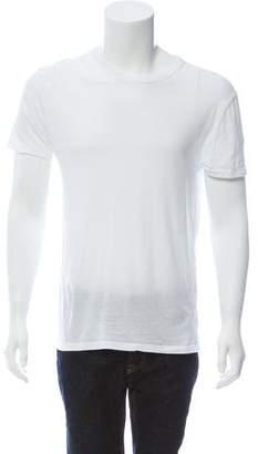 Alexander Wang Crew Neck Short Sleeve T-Shirt
