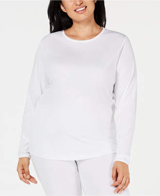 Cuddl Duds Plus Size ClimateSmart Long-Sleeve Top